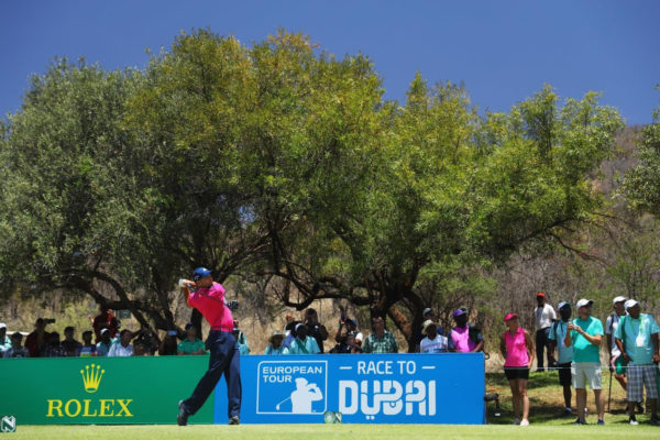 Sergio Garcia takes one shot lead into the weekend at Nedbank Golf Challenge