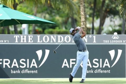 Chikkarangappa was brilliant at the AfrAsia Bank Mauritius Open