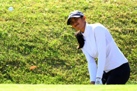 Aditi Ashok finishes T8 in FBM Ladies Open