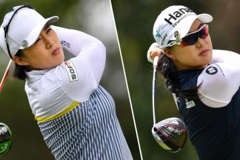 Amy Yang and minjee Lee share third round lead at LPGA Thailand