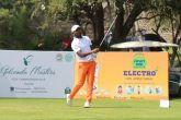 Chikkarangappa S during the final round of the Golconda Masters