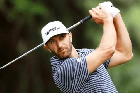 Dustin Johnson during the final round of WGC Mexico Championship
