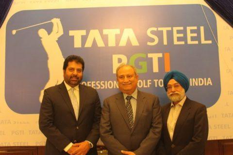 Tata Steel and PGTI TOUR ink three year partnership