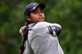 Anika Varma is lying T7 in Queen Sirikit Cup