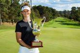 Anne Van Dam wins Canberra Classic