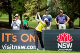 Diksha Dagar during the final round of the NSW Open - LET Image