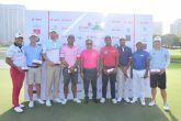 Dr Pawan Munjal, Chairman, Hero MotoCorp with players at the Hero Skills Challenge