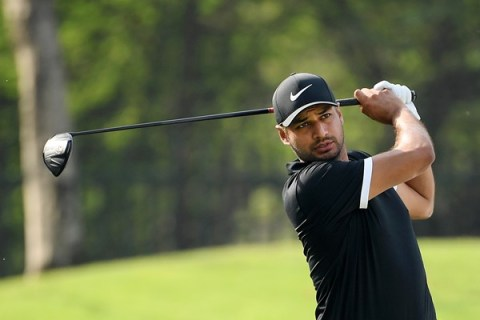 Julian Suri leading rd 2 of Hero Indian Open