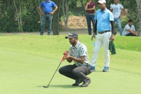 Chikkarangappa - Round 3 - Delhi-NCR Open Golf Championship