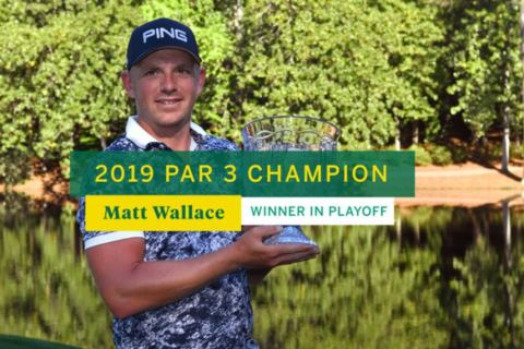 Matt Wallace wins 2019 Par 3 Champion