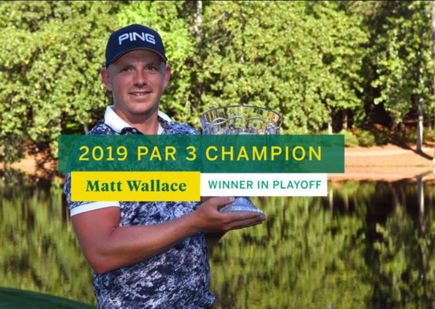 Matt Wallace wins 2019 Par 3 Champion