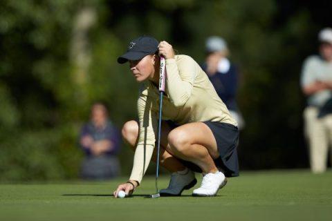 Jennifer Kupcho leads second of Augusta National Women's Amateur