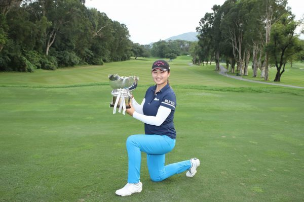 Liu Yan wins the Hong Kong Ladies Open