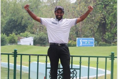 Trishul Chinnappa holds on to the lead at rd 2 of PGTI Players Championship
