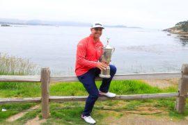 Gary Woodland - USGA Trophy Image