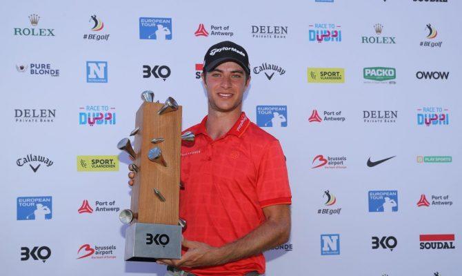 Guido Migliozzi wins Belgian Knockout - European tour Images