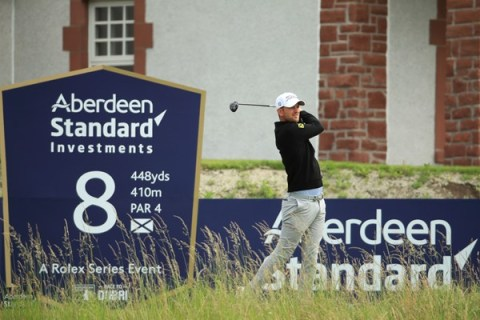 Bernd Wiesberger shares halfway lead at Aberdeen Standard Investments Scottish Open