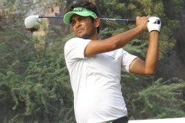 Harendra Gupta at the Aravalli Golf Course in Faridabad