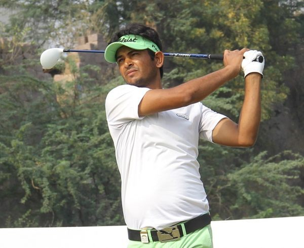 Harendra Gupta at the Aravalli Golf Course in Faridabad