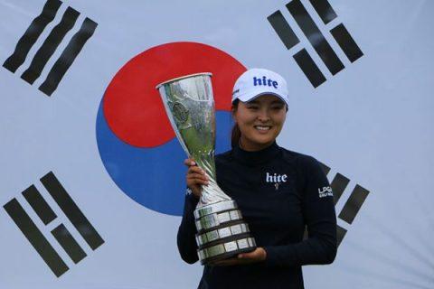 Jin Young Ko wins Evian Championship