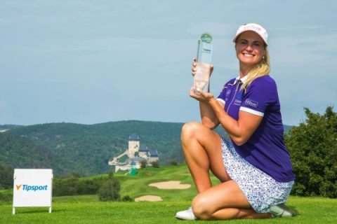 Carly Booth - Czech Ladies Open - LET Images