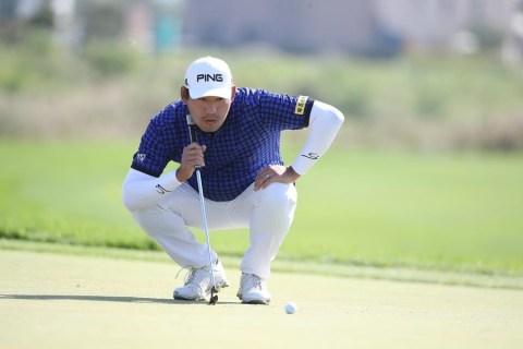 Chan Kim leads Shinhan Open