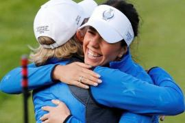 Georgia Hall won all four of her matches in the Solheim Cup - Europe defeated the USA 14.5-13.5