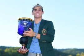 Joaquin Niemann wins the Greenbrier Classic