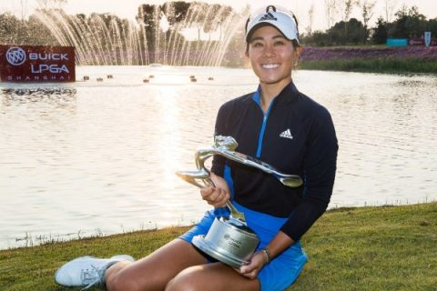 Danielle Kang of USA defends her title at Buick LPGA Shanghai