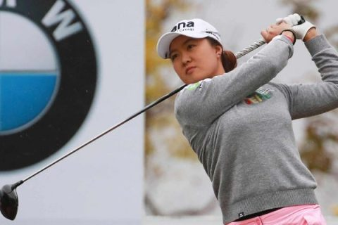 Minjee Lee takes first round lead at BMW Ladies Championship