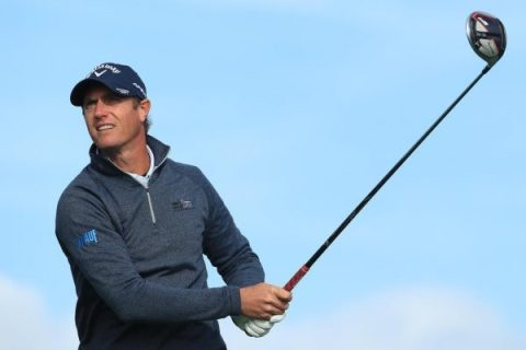 Nicolas Colsaerts at the Open de France
