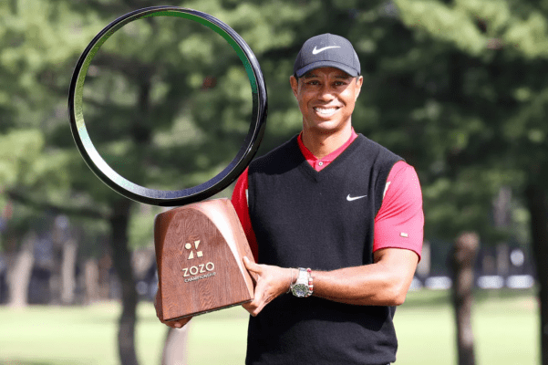 Tiger Woods wins his 82nd titel at ZOZO Championship
