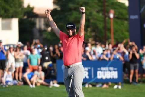 Jon Rahm wins DP World Tour Championship
