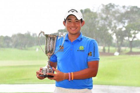 Pavit wins Sabah Masters