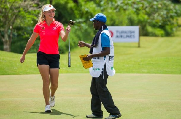 Julia Engstrom continues to lead rd2 of Magical Kenya Ladies Open by six shots