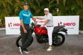TIger Woods & Pawan Munjal - Hero World Challenge