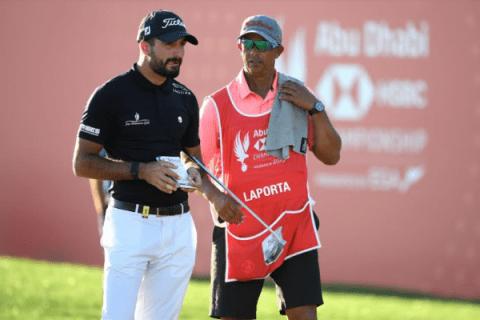 Francesco Laporta leads rd 2 of Abu Dhabi HSBC Championship