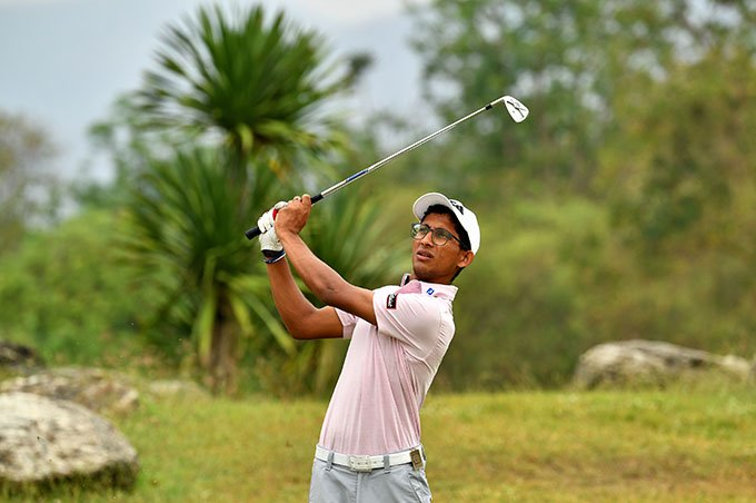 Kartik Sharma at the 2020 Asian Tour Qualifying School - Final Stage