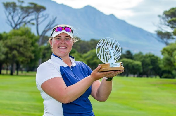 Alice Hewson of England wins Investec South African Women's Open