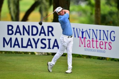 Andrew Dodt continues to lead rd 2 of Bandar Malaysia Open