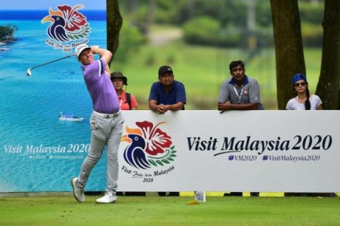 Andrew Dodt leads round one of Bandar Malaysia Open