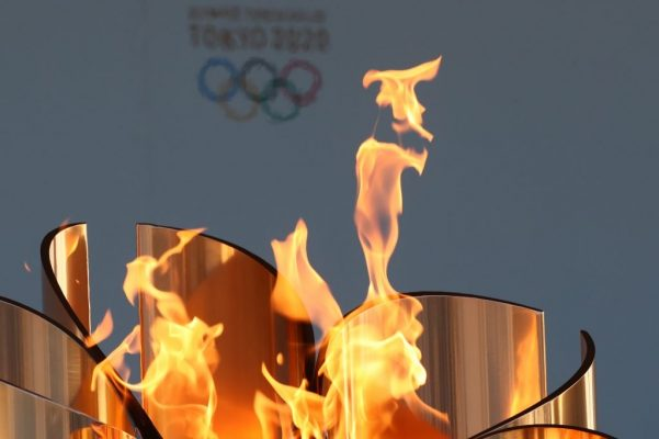 A beacon of hope as the Olympic flames stay lit