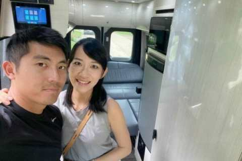 C.T. Pan with his wife Michelle
