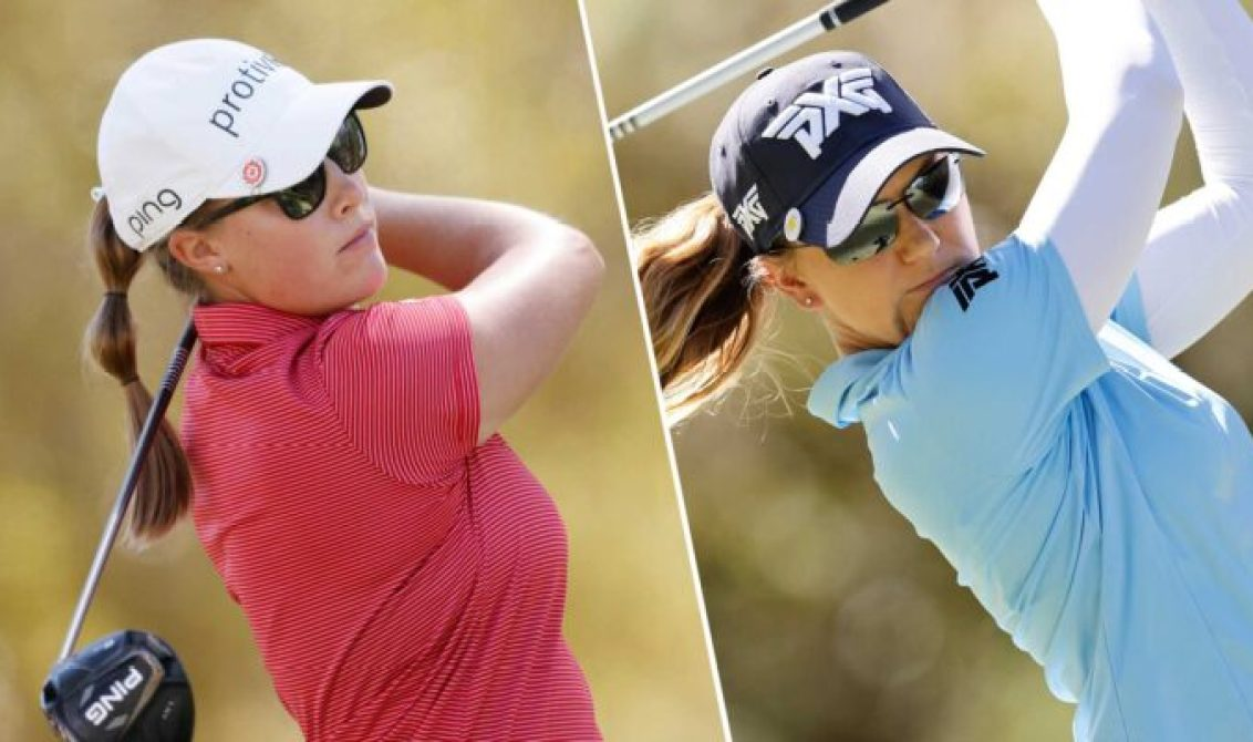 Jennifer Kupcho and Austin Ernst shares rd 2 lead in LPGA's Drive on Championship