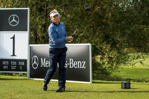 Bernhard Langer - Tee Box - Mercedes Benz Images