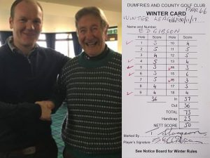 Golfer Beats Age By 16 Shots