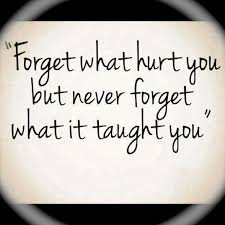 forget hurt