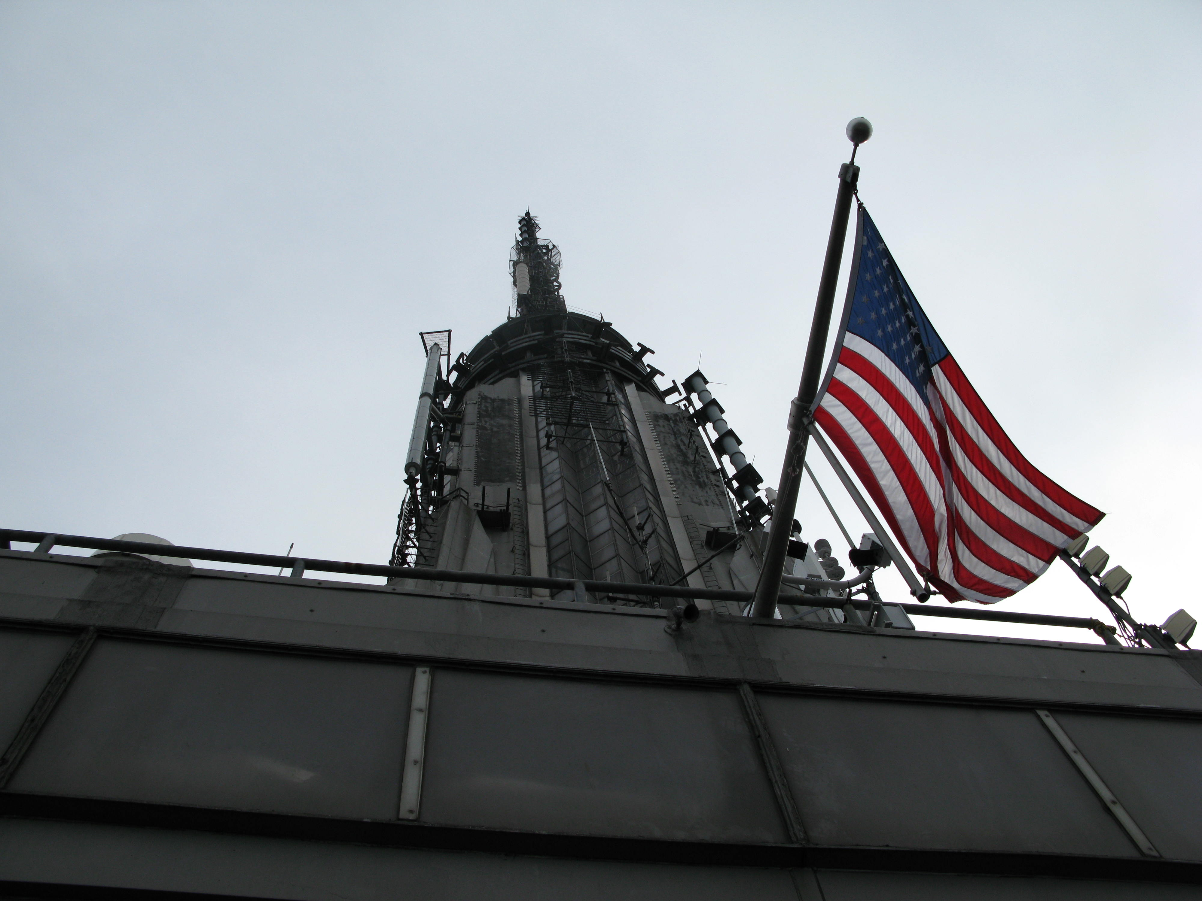 The Mast at the Empire State Building
