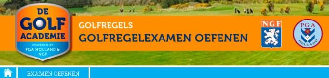 golfexamen