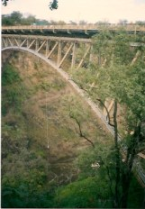Bungee Jumping Victoria Falls